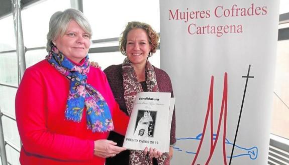 La Cofradía de la Santa Mujer Verónica de Elche es galardonada con el premio PASOS 2017