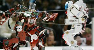 Batalla de robots estilo murciano