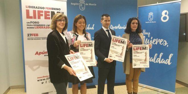 Foro de liderazgo femenino LIFEM se estrena en Murcia