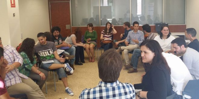 Participantes de la Lanzadera de Empleo de Murcia se reúnen con quince importantes empresas