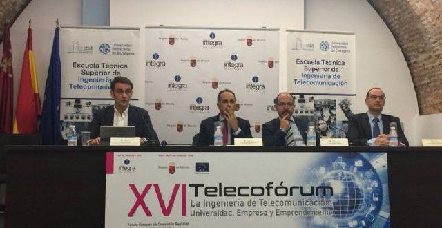 Gobierno de Murcia apoya jornadas Telecofórum en la UPTC