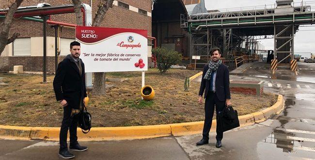 Tecnología murciana presente en Chile y Argentina