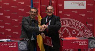 Banco Santander y Universidad de Murcia firman convenio de colaboración en emprendimiento