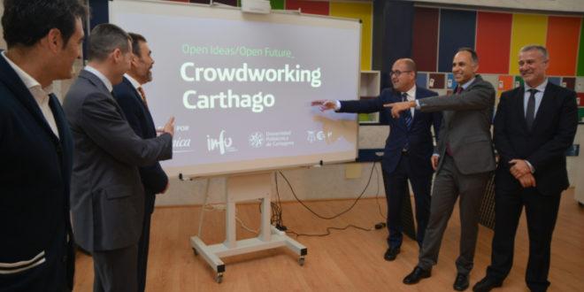 Murcia Open Future cubrirá 10 plazas para desarrollar proyectos de emprendimiento en su espacio de Crowdworking Carthago